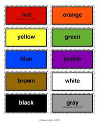 8 basic colors colors learning labs