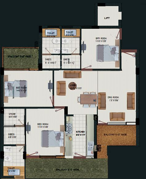 Mansions Floor Plan With Pictures by Royale Mansions By Royale Mansions In Dhakoli Zirakpur