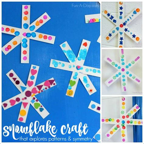 Paper Snowflakes For Preschoolers - 25 unique simple snowflake ideas on