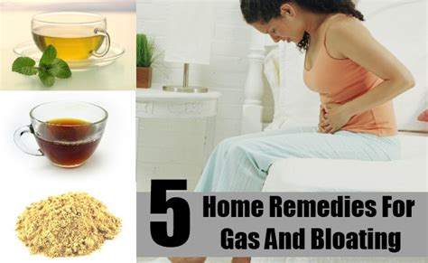5 home remedies for gas and bloating treatments