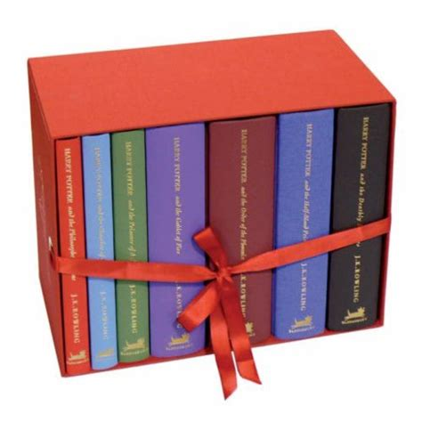 7 Book Series I 2 by Harry Potter Us Hardcover Box Set This Image Is From