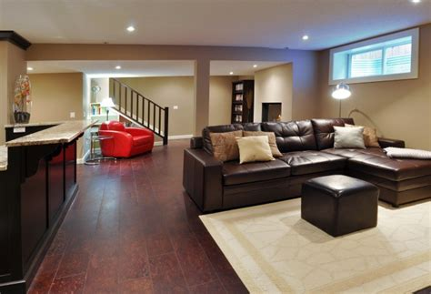 What is the expected timeframe for a standard basement renovation the reno pros