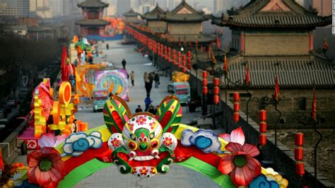 new year xian xi an city wall the most complete city wall in china