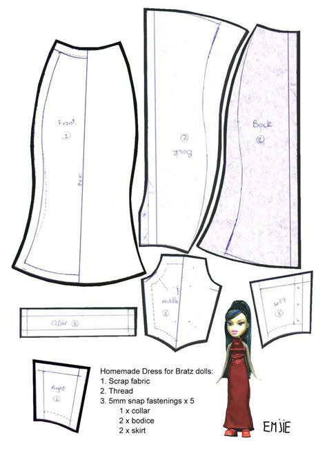clothes pattern maker free printable wedding dress pattern doll dress patterns for