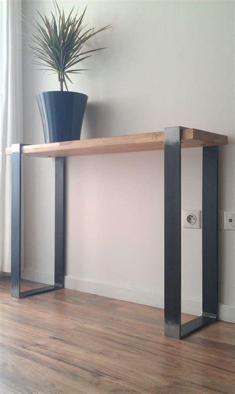 fabrication d un bureau en bois les 25 meilleures id 233 es concernant meubles industriels sur