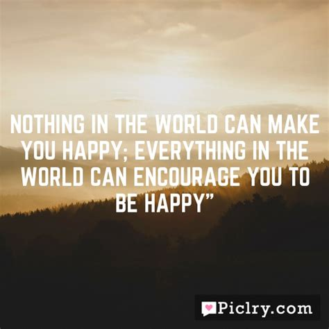 Nothing In The World by Nothing In The World Can Make You Happy Everything In The