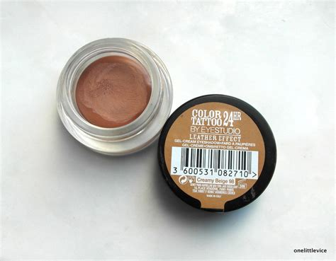 drugstore tattoo lotion maybelline s new leather effect colour tattoo in creamy