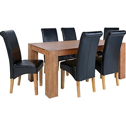 Dining Chairs Homebase Dining Chairs Including Leather Oak Fabric From Homebase