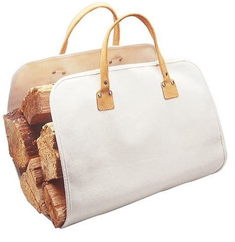 Fireplace Log Tote by New Large Fireplace Firewood Log Caddy Carrier