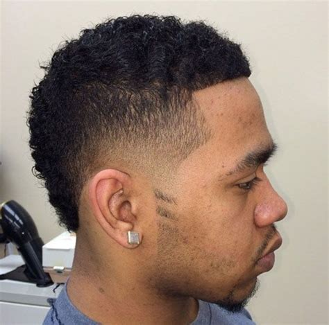 mohawk styles for african american men 20 best images about hair on pinterest taper fade curls