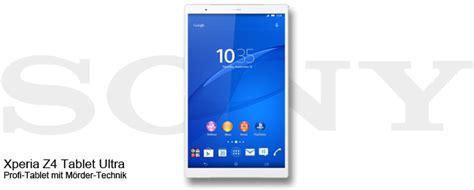 Sony Xperia Z4 Tablet Ultra sony xperia z4 tablet ultra 13 zoll tablet im anmarsch