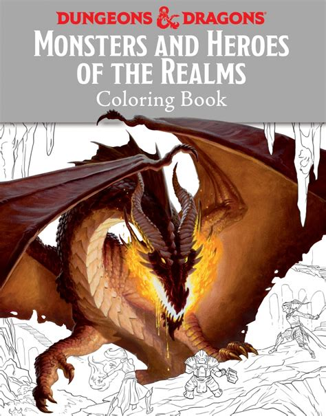 coloring book dragons volume 1 books dungeonology and d d coloring book dungeons dragons