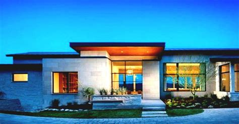 one story contemporary house plans single story modern home design with green view landscape 2016 2017 house stuff