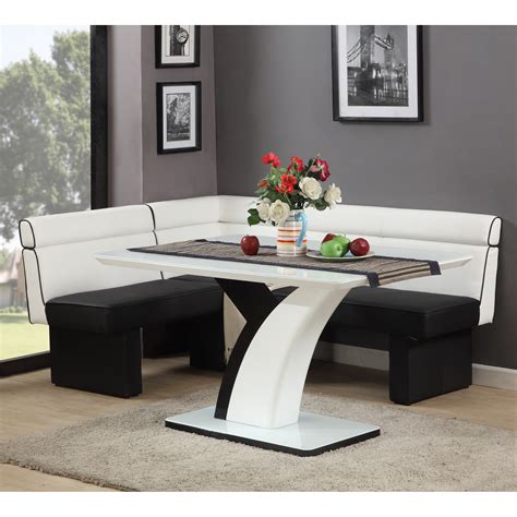 nook dining table set chintaly nook dining set dining table sets at
