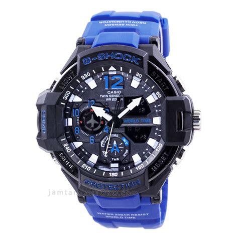 harga sarap jam tangan  shock ga  strap biru