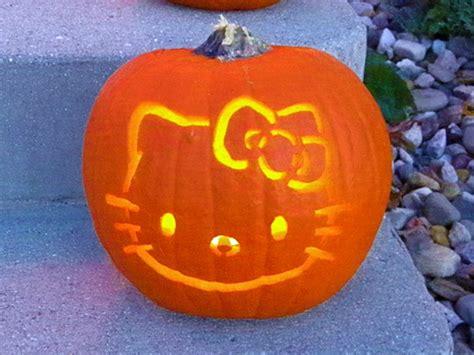 jack o lantern templates hello kitty hello kitty pumpkin by louness26 on deviantart