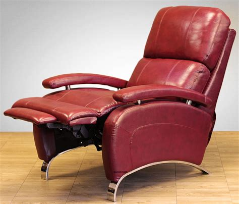 red recliner chairs barcalounger oracle ii genuine leather recliner lounger