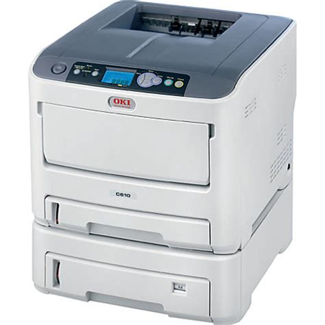Office Depot Printers Oki Data C610dtn Color Laser Printer By Office Depot
