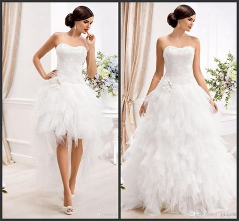 Brautkleid 2 In 1 by 2015 Sweetheart Gown Wedding Dresses With Detachable