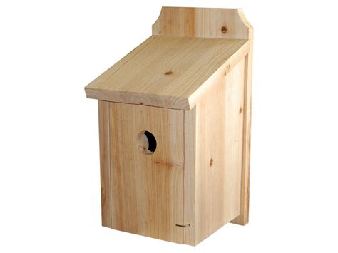 wild bird nest boxes choice of 3 styles wood raffia or