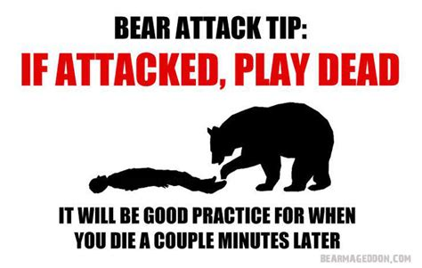 how to to play dead dead during attack