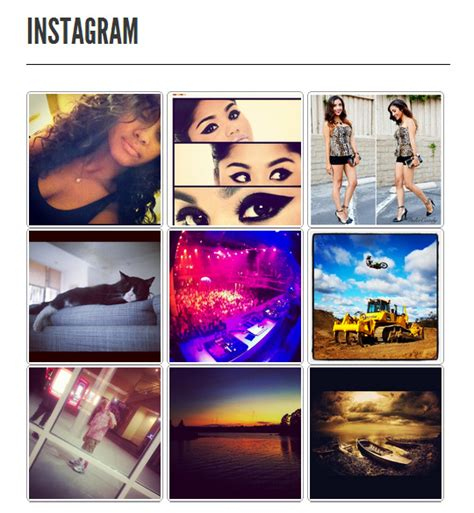 blogger themes instagram 5 great plugins for sharing your instagram feed with