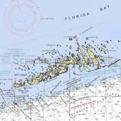 florida key west lower nautical chart decor
