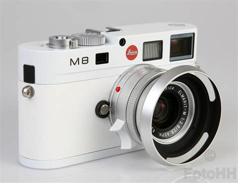leica m8 leica m8 the white edition with serialnumber 219 275