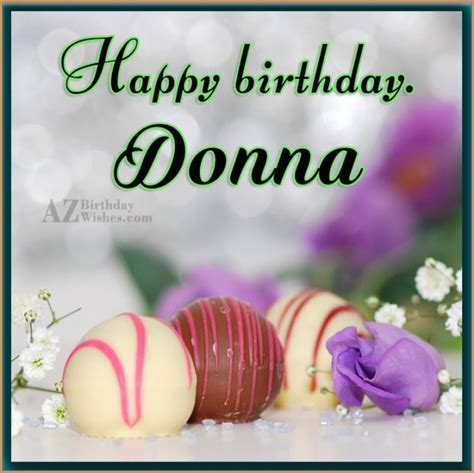 for birthday happy birthday donna