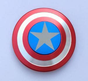 Fidget Spinner Shield Captain America captain america shield spinner fidgeter