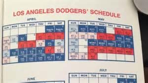 la dodgers home schedule dodgers schedule 2014 autos post