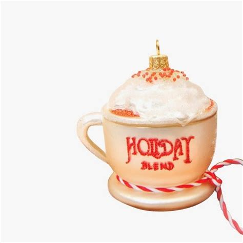 coffee ornaments coffee cup tree ornaments