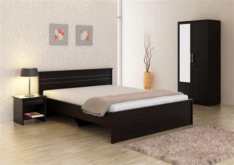 Bedroom Furniture India Spacewood Engineered Wood Bed Side Table Wardrobe Price In India Buy Spacewood Engineered