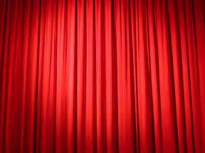 Red Curtains Stage » Home Design 2017
