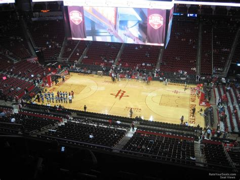 Best Seats At Toyota Center Houston Toyota Center Section 408 Houston Rockets