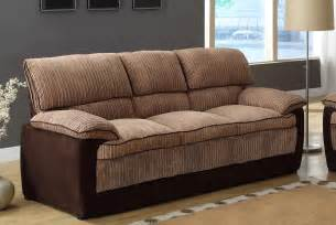 corduroy sofa homelegance mccollum sofa set brown corduroy and