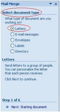 cara membuat mail merge di word 2003 mail merge dengan menggunakan ms word 2007 langkah