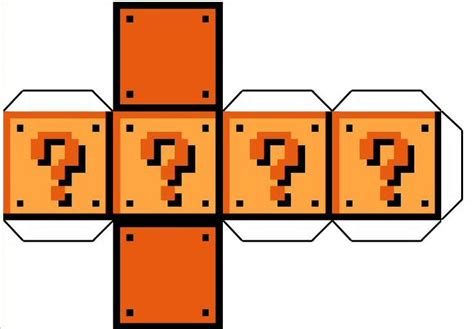Mario Question Block L by Question Block Template Bowser Birthday