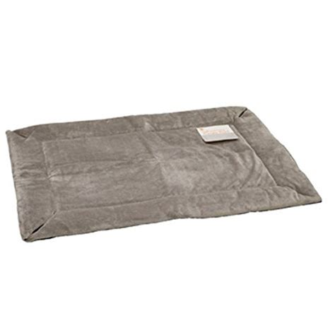 heat l for kennel self warming heated crate pad gray hound pet cat