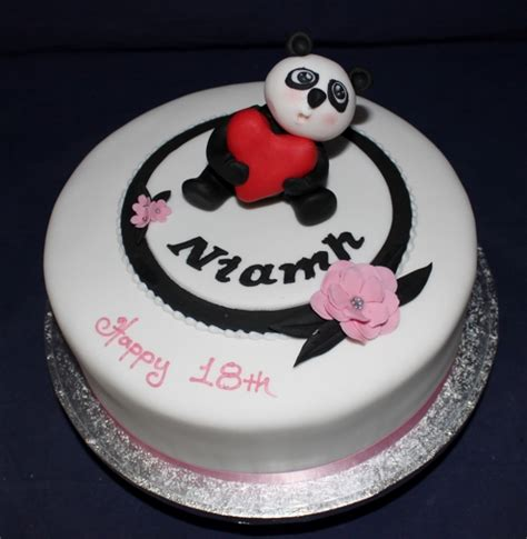 Wedding Cake Northton by Panda Birthday Cake Design Gardners Bakery Birthday Cakes