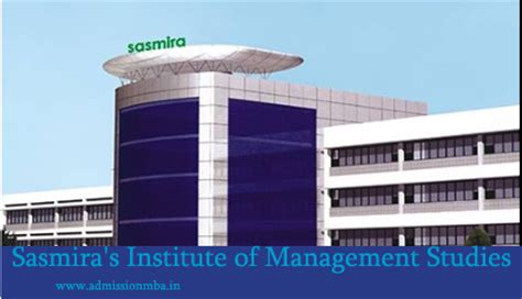 Offline Admission For Mba In Mumbai by Sasmira S Institute Of Management Studies Research