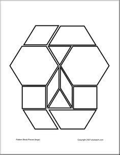 heart pattern block templates valentine s day pattern block heart pattern blocks
