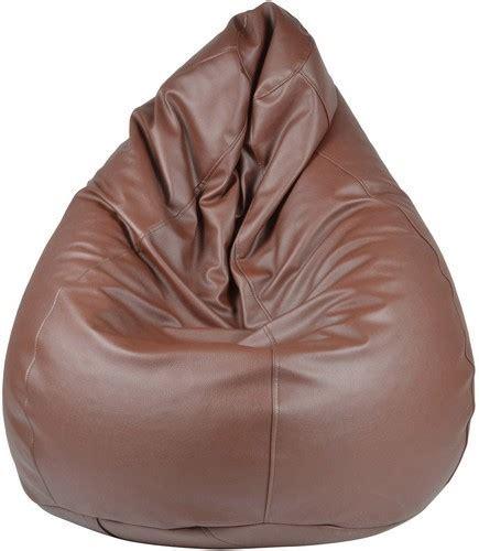 big brown bean bag brown bean bag chair chairs seating