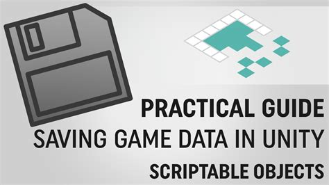 xml tutorial unity saving data in unity scriptableobjects youtube