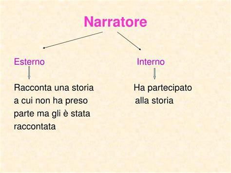 narratore interno ppt analisi testo narrativo powerpoint presentation