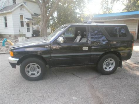 isuzu amigo hardtop 1994 isuzu amigo 2wd v6 5 speed hardtop for sale