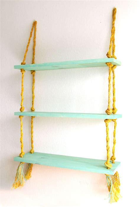 seil regal diy rope shelf all i need is a drill a of rainbow