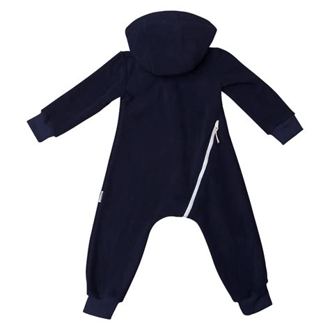 Overall Navy fleece overall navy babyshop one