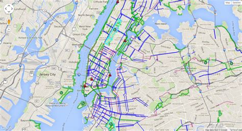 nyc traffic map archives morphocode