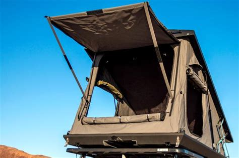eezi awn awning eezi awn stealth roof top tent 4wd accessories roo
